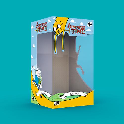 Caja Mochilas Adventure Time